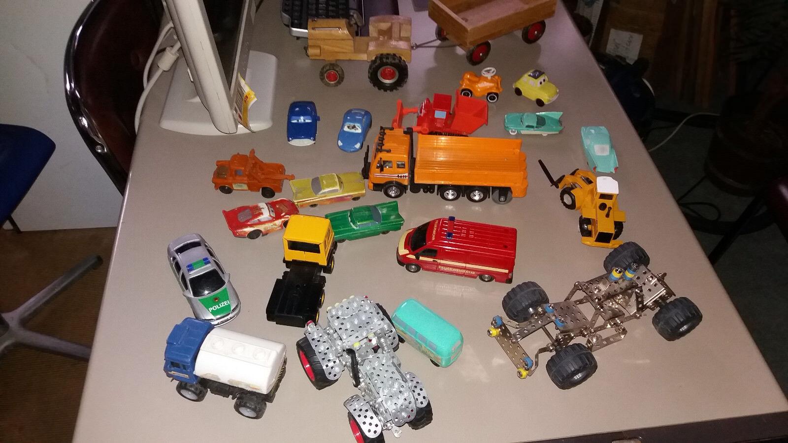 Spielzeug Autos - Sammlung - Gemischt - Paket - Dachbodenfund - Top