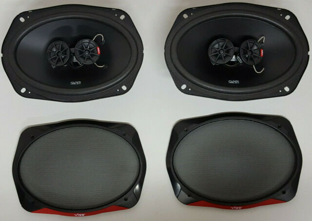 PAIR OF VIBE SLICK 693. COMPLETE WITH GRILLS, SLICK693-V7 BARGAIN PRICE