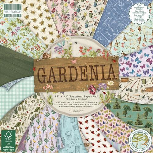 Gardenia First Edition FSC 12x12 48 Sheet Paper Pad