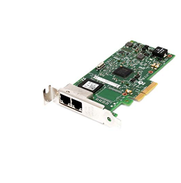 Intel 1350-T2 Dual Port Gigabit Ethernet PCIe Adapter - Low Profile Only