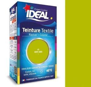 Tinte-con-Fijador-Textil-Tela-Verde-Anis-Ideal-Ropa-Algodon-Seda