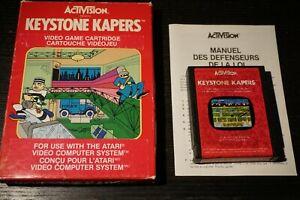 Keystone-Kapers-Atari-2600-Video-Game-Complete-In-Box