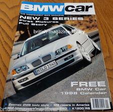 BMW Car January 1998 - Zeemax ZM8 - Neue Klasse E46 MK Motorsport E39 540i