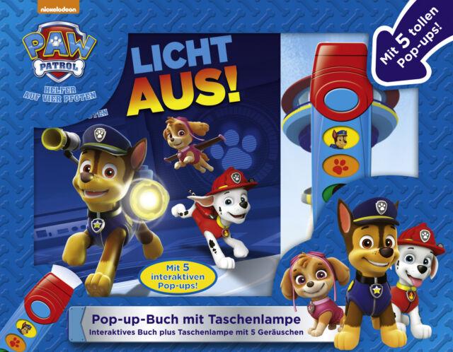 PAW Patrol, Licht aus! - Pop-up-Buch mit Taschenlampe - Bilderbuch mit 5 coo ...