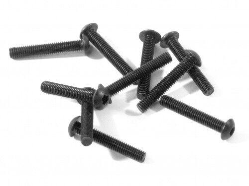 Hex Socket//x10 HPI Z356 Bouton Vis à tête M3X18mm New! Bouton Vis à tête