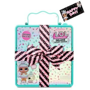 LOL-Surprise-DELUXE-PRESENT-SORPRESA-BAMBOLA-SPRINKLES-PET-DOLL-OMG-5G