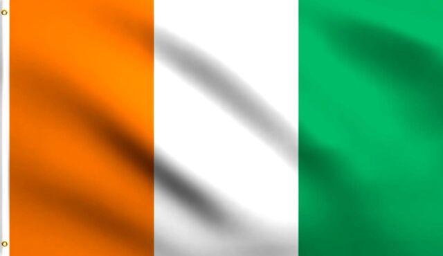 "/""COTE D/'IVOIRE/"" 3x5 ft flag polyester Ivory Coast"