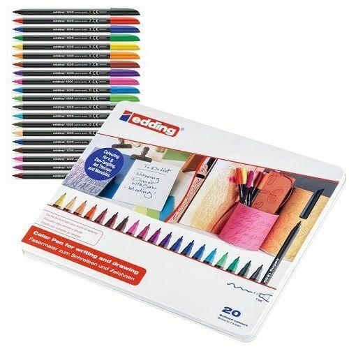 Estuche Edding 20 rotuladores de colores Multicolor