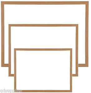 MAGNETIC-WHITEBOARD-LARGE-amp-SMALL-WOOD-FRAME-DRYWIPE-OFFICE-NOTICE-MENU-BOARD