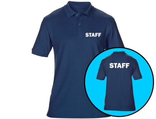 6 Colours Embroidered Staff Mens Polo Shirts Workwear
