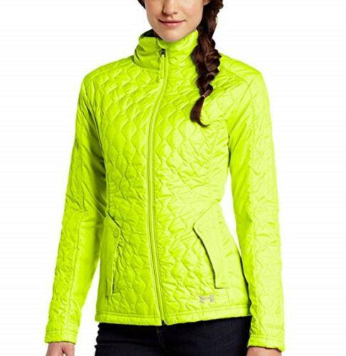 Under Armour Women/'s Yellow UA ColdGear Infrared Alpinlite Packable Jacket $124