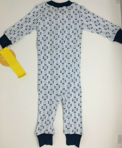 Details about  /Magnolia Baby Boy MY FIRST BUCK Zippered Pajamas NEW