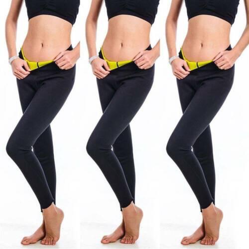 Damen Neopren Schwitzhose Thermoeffekt SHAPERS Hose Figurformende Abnehmen TFH