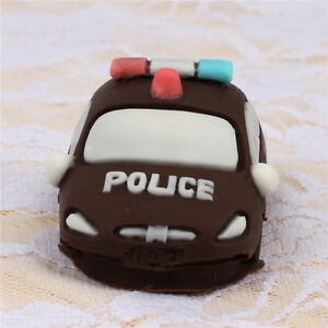 Police Car Soap Mold Handmade Craft Molds Flexible Baking Cake