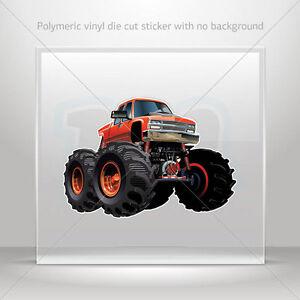 Decals-Decal-Monster-truck-Helmet-Atv-Bike-polymeric-vinyl-Garage-st7-224ZE