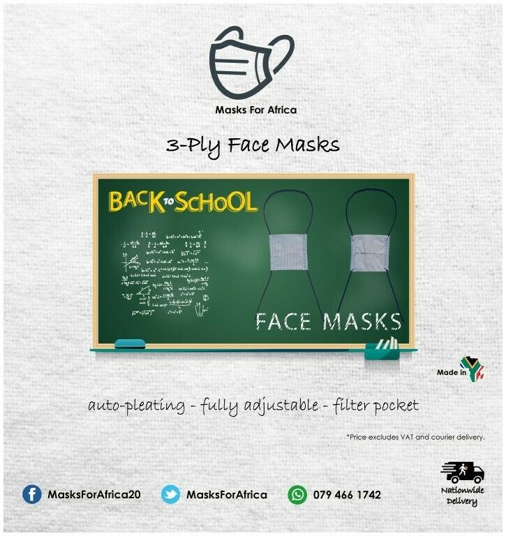 High Quality Kids Cloth Masks in stock