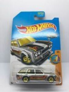 Hot Wheels 71 Datsun Bluebird 510 Wagon Zamac