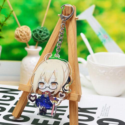 Anime Fate//Grand Ordre Saber Jeanne d/'Arc Acrylique Keychain Pendentif Cadeau #DR568