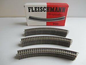 Fleischmann 9120 Gebogenes Gleis R1 N Spur