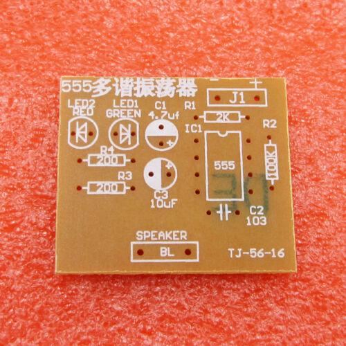DIY Kits 555 Multibrator Suite NE555 Astable Circuit Stable Practical Training