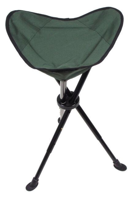 SURVIVAL Klapphocker Teleskop-Dreibein, oliv