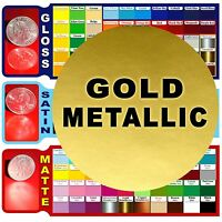 5 Rolls 6 Metallic Gold Adhesive Backed Vinyl Craft/sign Cutters Die/punch Cut