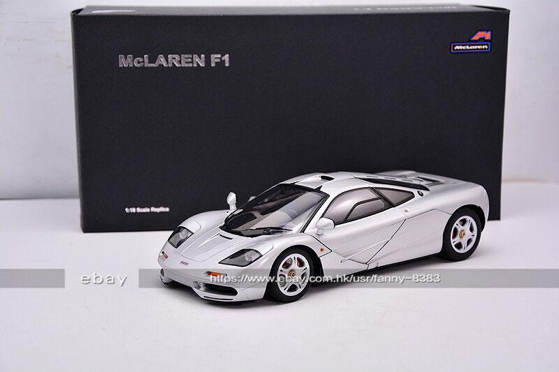 AutoArt 1 18 McLaren F1 Silver