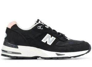 NEW-BALANCE-991-BLACK-PINK-SNEAKERS-SCARPE-DONNA-MADE-IN-ENGLAND-W991KKP
