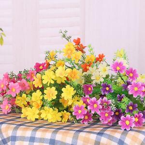 1-Bouquet-28-Heads-Dedicated-Trendy-Fake-Daisy-Silk-Flower-Home-Wedding-Decor-FO