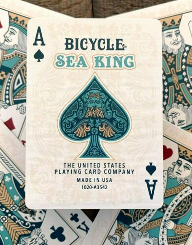 1 DECK Bicycle Sea King playing cards