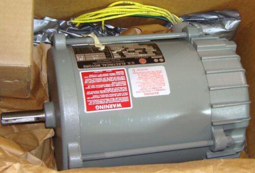 New U.S Electrical Elec Motor 1//4 HP 1725 RPM 9302LR