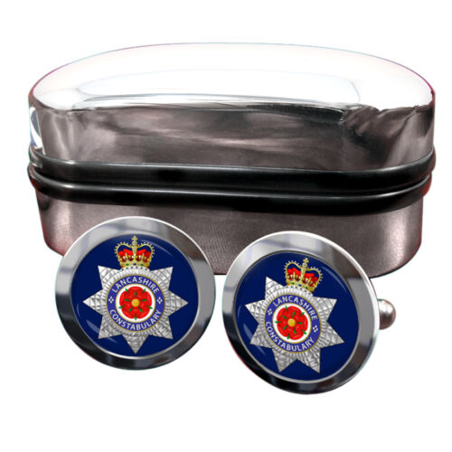 Lancashire Constabulary Police Force Cufflinks /& Box