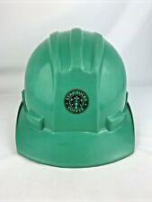Starbucks Coffee Bullard Hard Hat 5100 Green Hard Boiled Adjustable