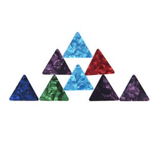 3x-Triangle-Guitar-Pick-For-Acoustic-Electric-Guitar-Thickness-0-71mm-FXG