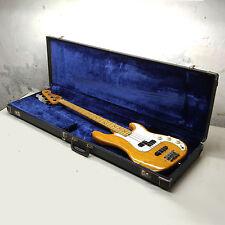 Fender Precision Bass Guitar 1975 CBS Era Fullerton CA USA Blonde Natural Finish