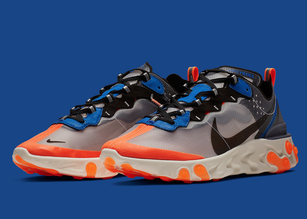 Nike React Element 87 Size UK 3.5 EU 36  Unisex  AQ1090-004