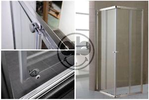 Cabina Doccia 90x90 : Box cabina doccia in cristallo mm trasparente