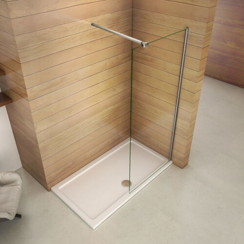 2000mm Wet Room Shower Enclosure NANO Glass Screen Cubicle Panel Walk in
