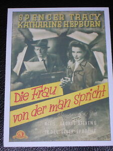 Filmkarte - Cinema - Die Frau, von der man spricht - Karlsruhe, Deutschland - Filmkarte - Cinema - Die Frau, von der man spricht - Karlsruhe, Deutschland