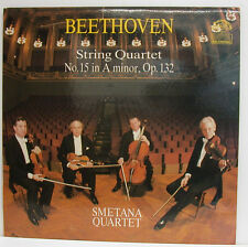 "BEETHOVEN STRING QUARTET No. 15 IN A MINOR SMETANA QUARTET 12"" LP (e849)"