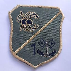 MACEDONIA ARMY PATCH MILITARY EMBLEM scorpion unit