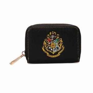 Earphone Pouch  Zipper Pouch  Coin Pouch  Harry Potter  Hogwarts  Black