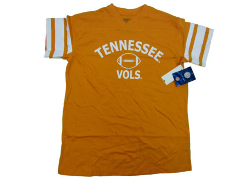 TENNESSEE VOLUNTEERS YOUTH ORANGE FOOTBALL JERSEY STYLE T-SHIRT NWT
