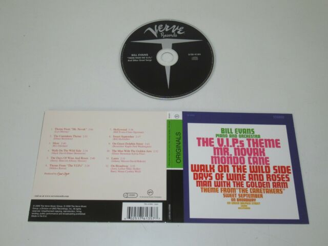 BILL EVANS/THEME FROM THE V.I.P.'S AND OTHER GREAT SONGS(VERVE 0602517613577) CD