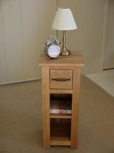 PEMBROKE-CAMBRIDGE-100-SOLID-OAK-TELEPHONE-HALL-TABLE-PLANTER