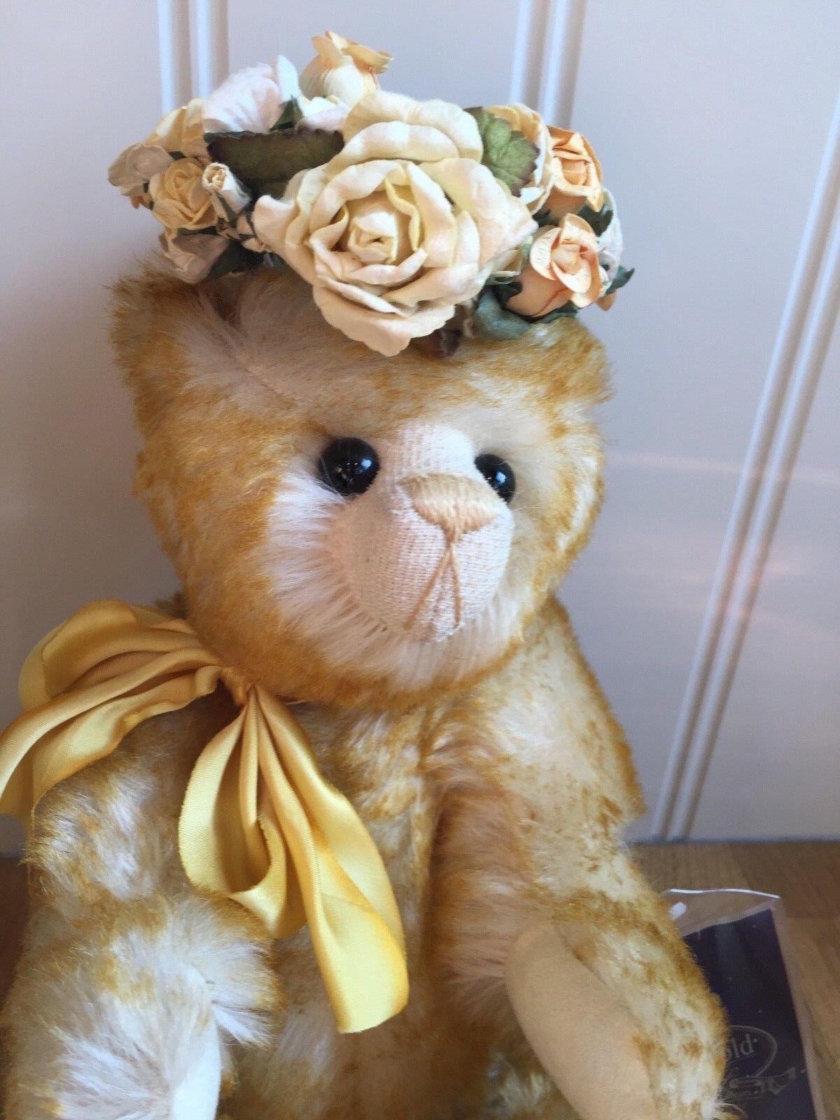 BELLISSIMO Cotswold Bear Co. Ltd Edition RACCOLTA DEL MIELE DI FIORI 44 del 100 RARA