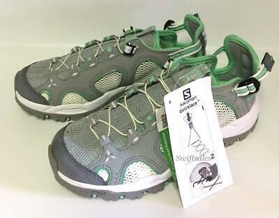 Salomon Techamphibian 3w 373271 light onixwhiteAcryl grün NEU in Box | eBay
