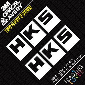 2-x-HKS-Sticker-Vinyl-Seat-Slivia-Civic-Accord-EP3-s2000-Funny-JDM-DRIFT
