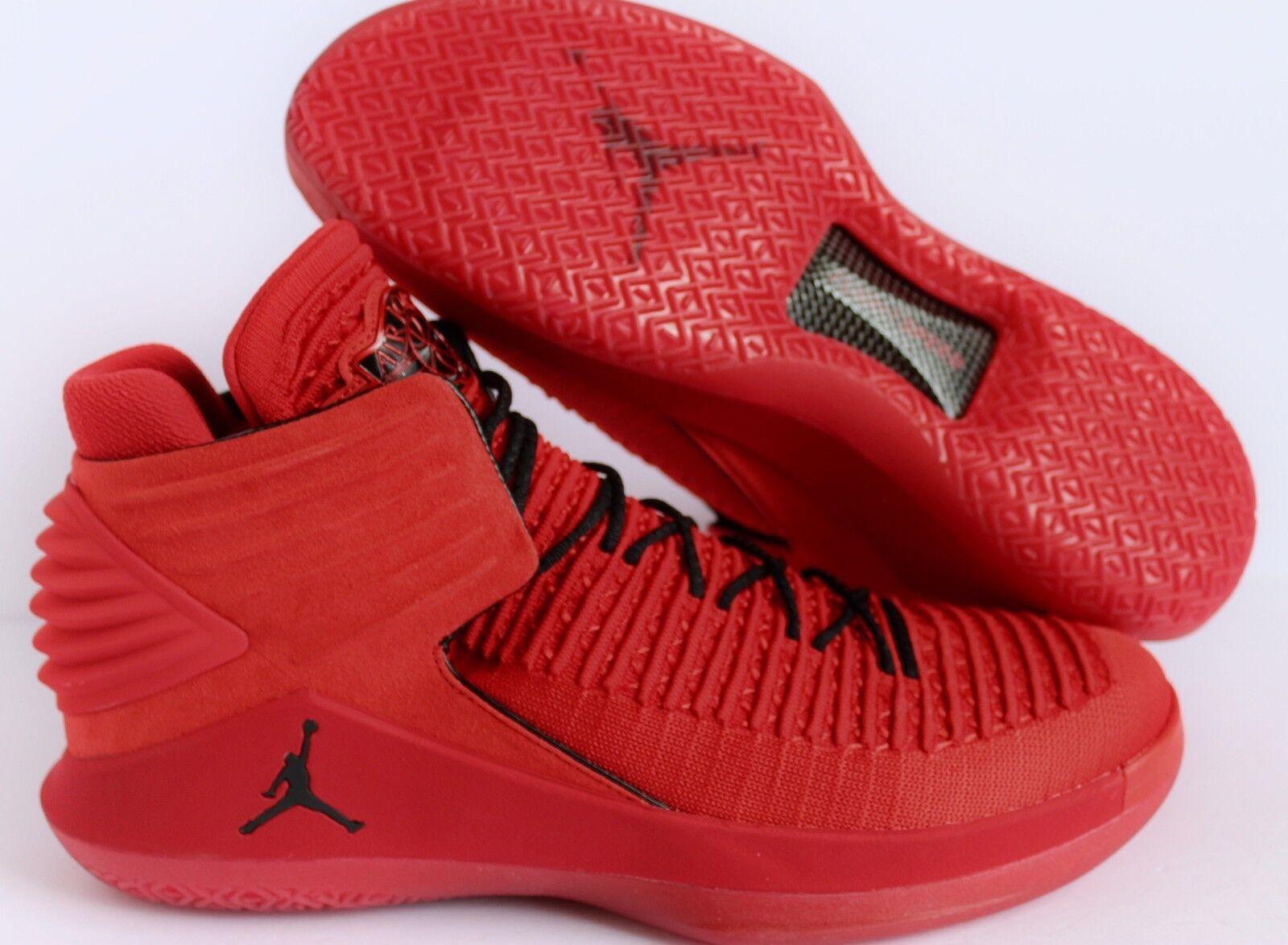 Nike Air Rosso Jordan XXXII Sz 9 Rosso Air Corsa Universidad Rojo Negro [AA20183601] f2c717
