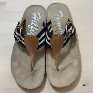 659f58a8a Image is loading Tommy-Hilfiger-Vintage-Women-039-s-Giulio-Flat-